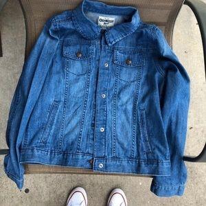 Jean jacket with pockets size 14 (kids)